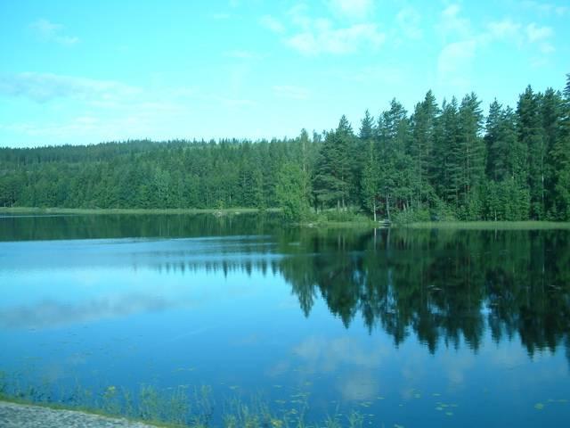 これ。どうでもいいけど、フィンランドの湖の水面は黒かった。 Finlan... Days in